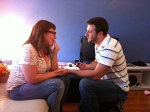 J + J get engaged!